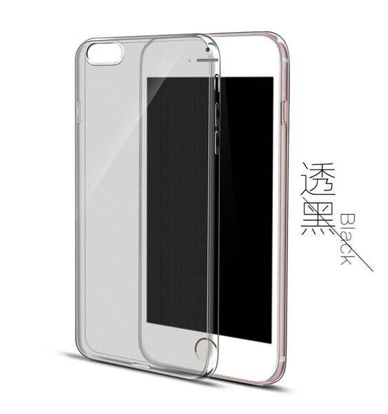 Ultra Thin TPU Transparent Phone Case Crystal Clear Silicon Cover