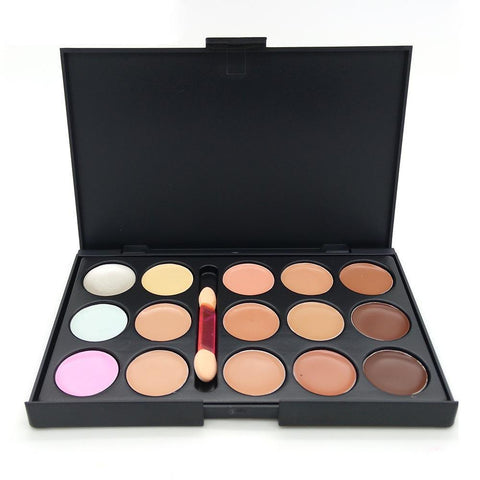 Professional Concealer Palette with Brush
