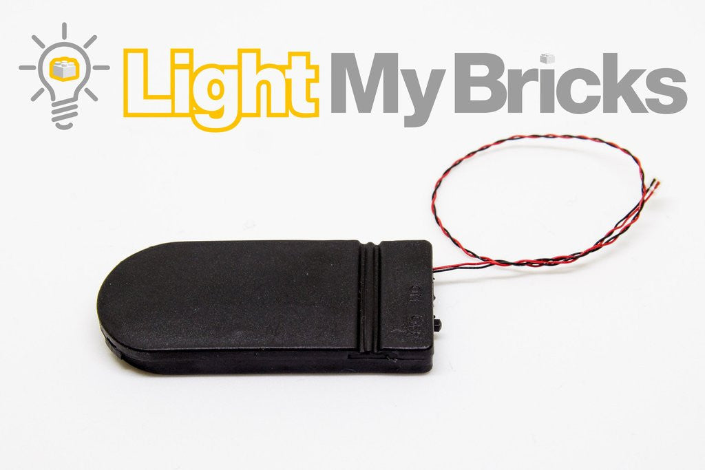 FLAT BATTERY PACK By Light My Bricks
