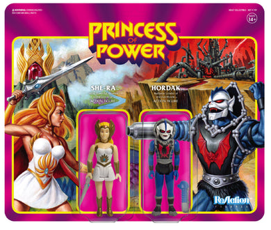 MASTERS OF THE UNIVERSE SDCC 2 pack Hordak and She-ra Exclusive IN STOCK