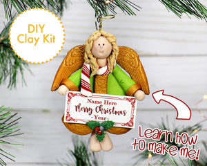DIY Christmas Angel Ornament 2017