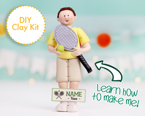 Tennis Player Ornament/Figurine