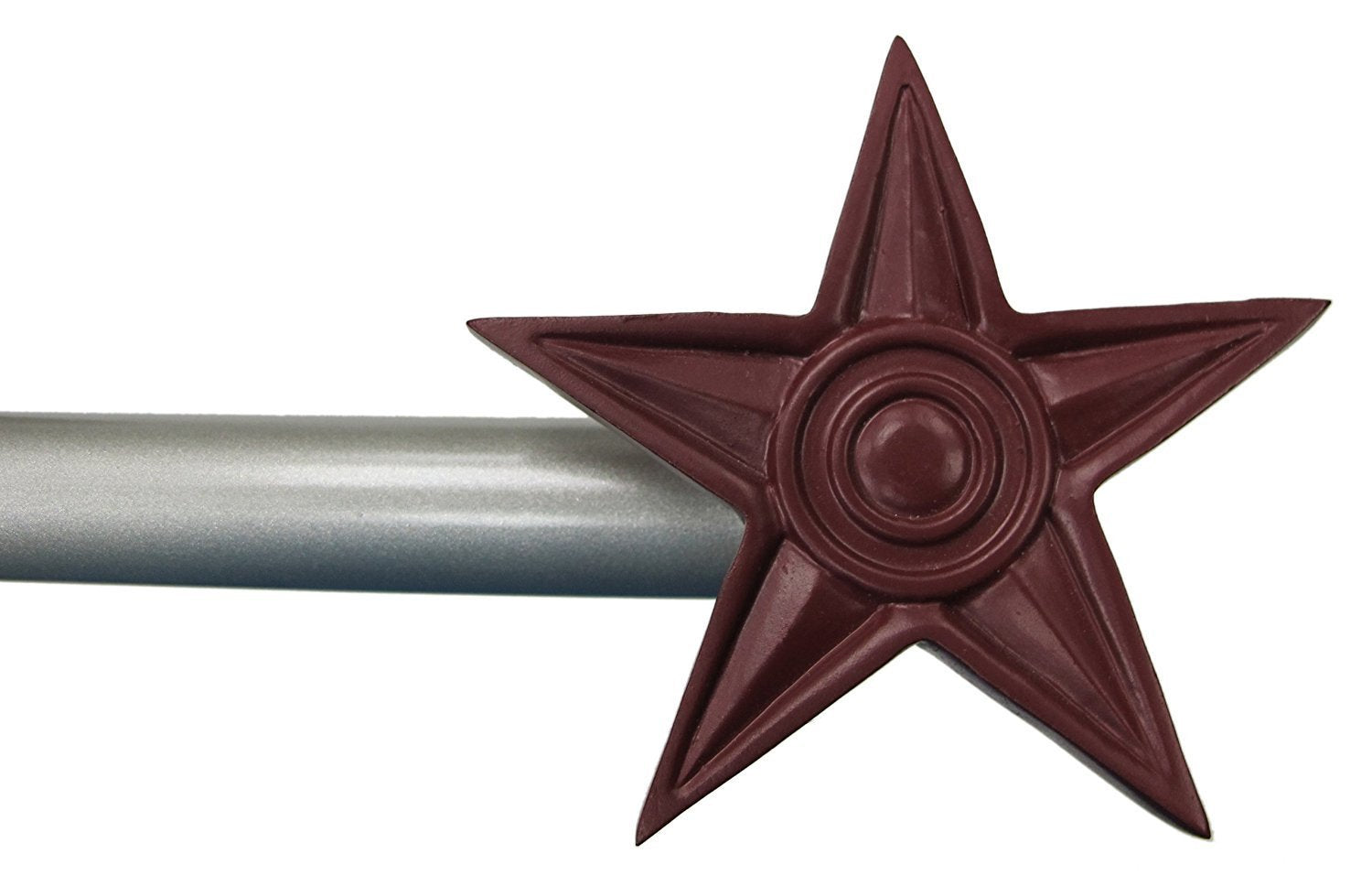 Star Window Curtain Drapery Rod Set