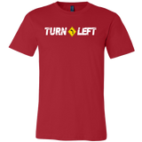 Turn Left LOGO Mens T-Shirt - Turn Left T-Shirts Racewear