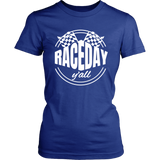 Race Day Y'all T-Shirt - Turn Left T-Shirts Racewear