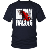 Let Dirt Fly Flaming Eagle T-Shirt - Turn Left T-Shirts Racewear