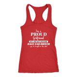I'm A Proud Girlfriend Tank Top - Turn Left T-Shirts Racewear