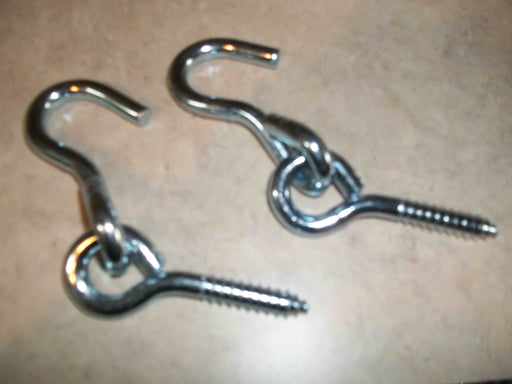 PAIR OF HAMMOCK HOOKS