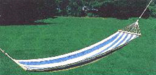 BLUE & WHITE HAMMOCK
