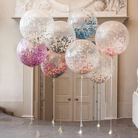 "Deco - 12"" Balloon Confetti Wedding Parties Decoration Balloon Confetti pop"