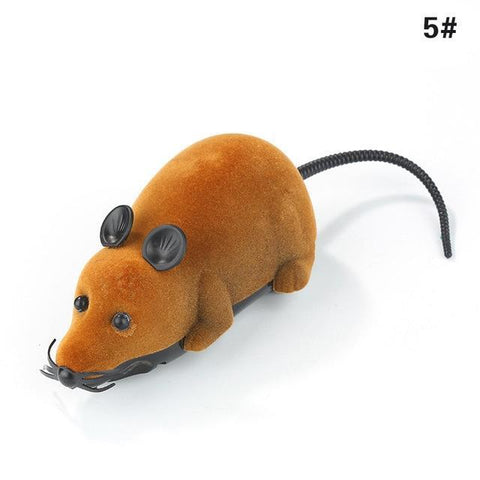 Remote Control Mice Toy for Cat or kids Cat Toys Brown Godness House-jder Store