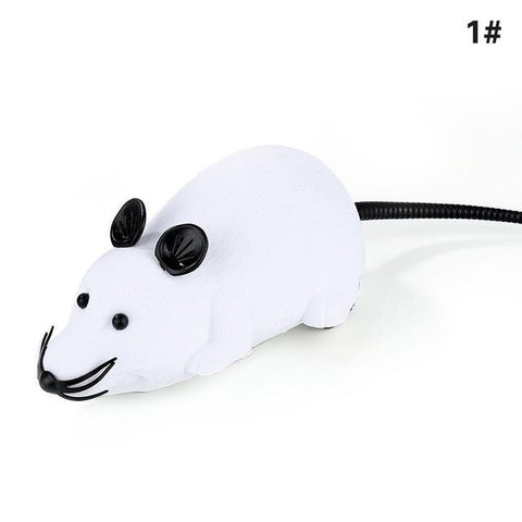 Remote Control Mice Toy for Cat or kids Cat Toys White Godness House-jder Store
