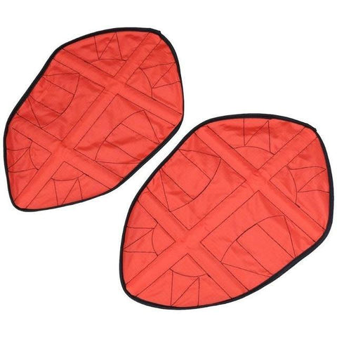 Reusable  Automatic One Step Hands-free Shoe Covers Red joeypatch