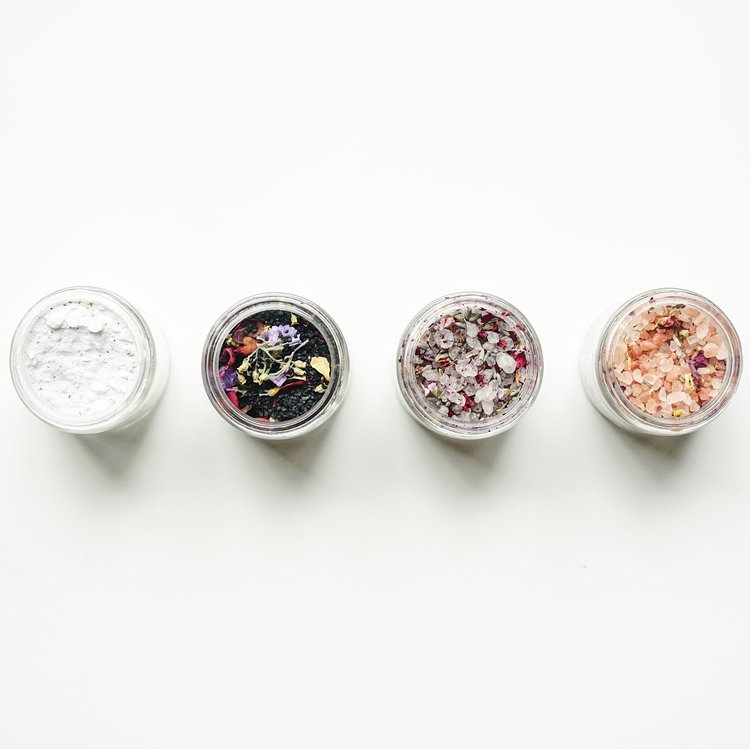 Floral Salt Bath Soak By Among the Flowers