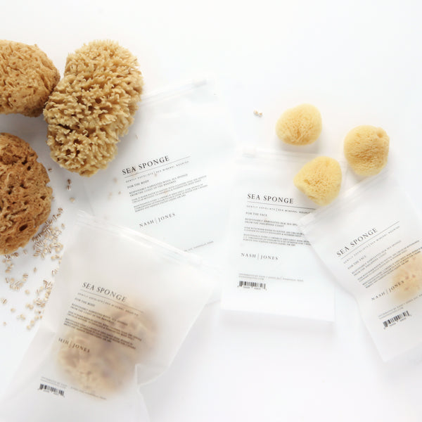 Silk Facial Sea Sponge by Nash + Jones