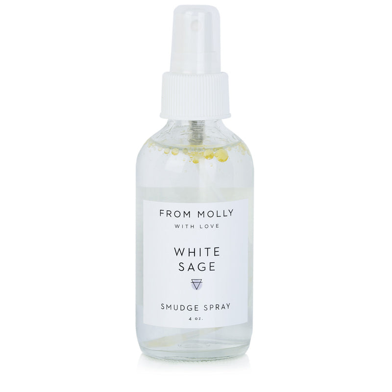 White Sage Smudge Spray by From Molly With Love