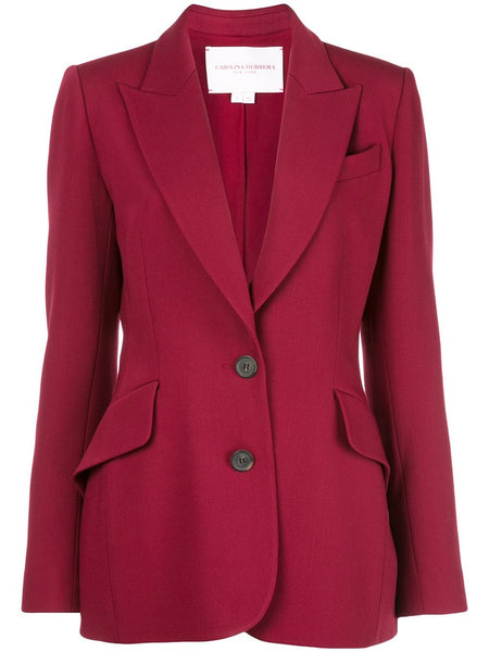 CAROLINA HERRERA 2 button Blazer