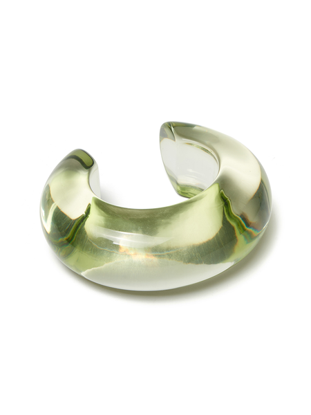Lizzie Fortunato Arc Cuff - lime