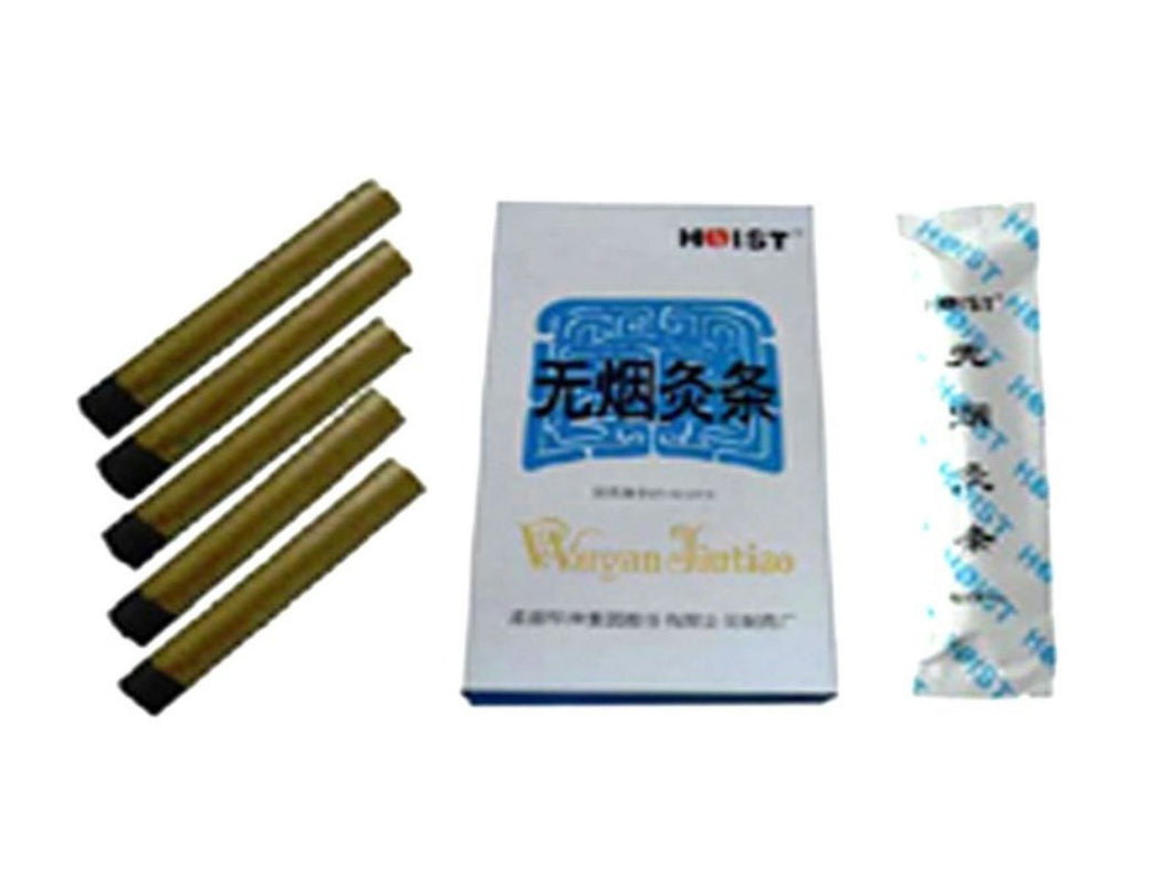 Moxa Smokeless ROLLS Moxibustion Therapy Acupuncture Chinese Medicine Sizes 5PC