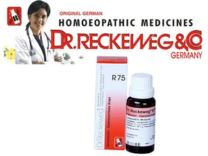 Dr Reckeweg Germany R75 Labour Pains & Menstrual Cramps Homeopathic Medicine