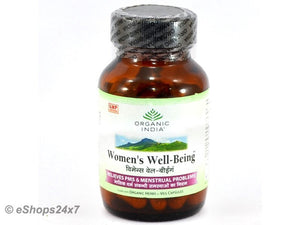 Organic India Women Well Being  60 Vcaps-100 % Natural Women Health