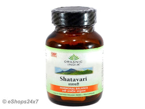 Organic India Shatavari Hormonal Balance 60 Capsules For Women