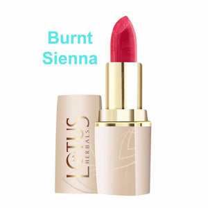 Lotus Herbals Pure Colors Lip Color-All Shade(All Skin Types) For Women- Burnt Siena-660