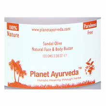 Planet Ayurveda's Sandal Olive Natural Face & Body Butter-Maintains Healthy