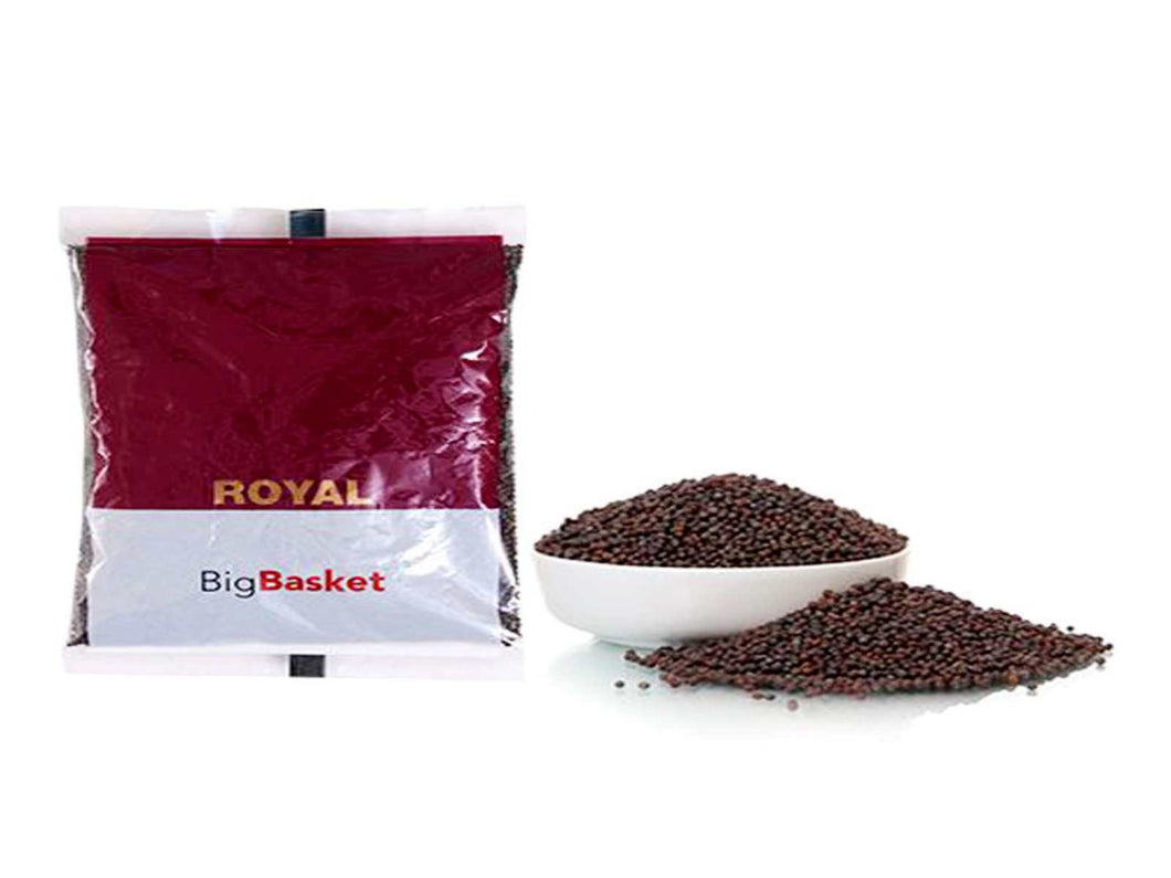 Pure Indian Whole Spices Raw Royal Mustard/Rai Big