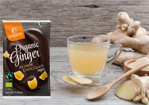 Looking for a vegan alternative to coffee or tea? Try Ginger!