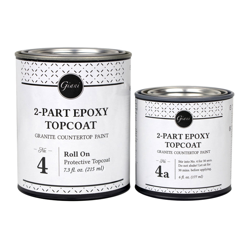 2-Part Epoxy Topcoat Kit for Giani Countertop Paint