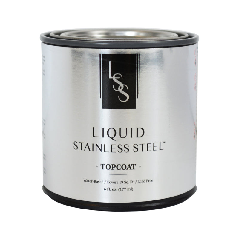 Liquid Stainless Steel High-Gloss Topcoat