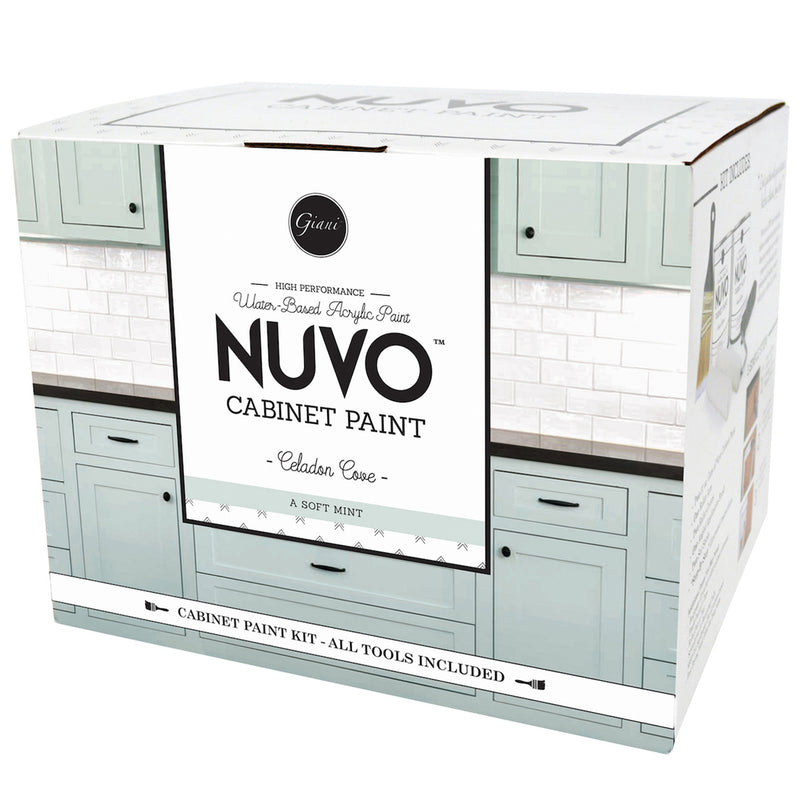 Nuvo Celadon Cove Cabinet Paint Kit