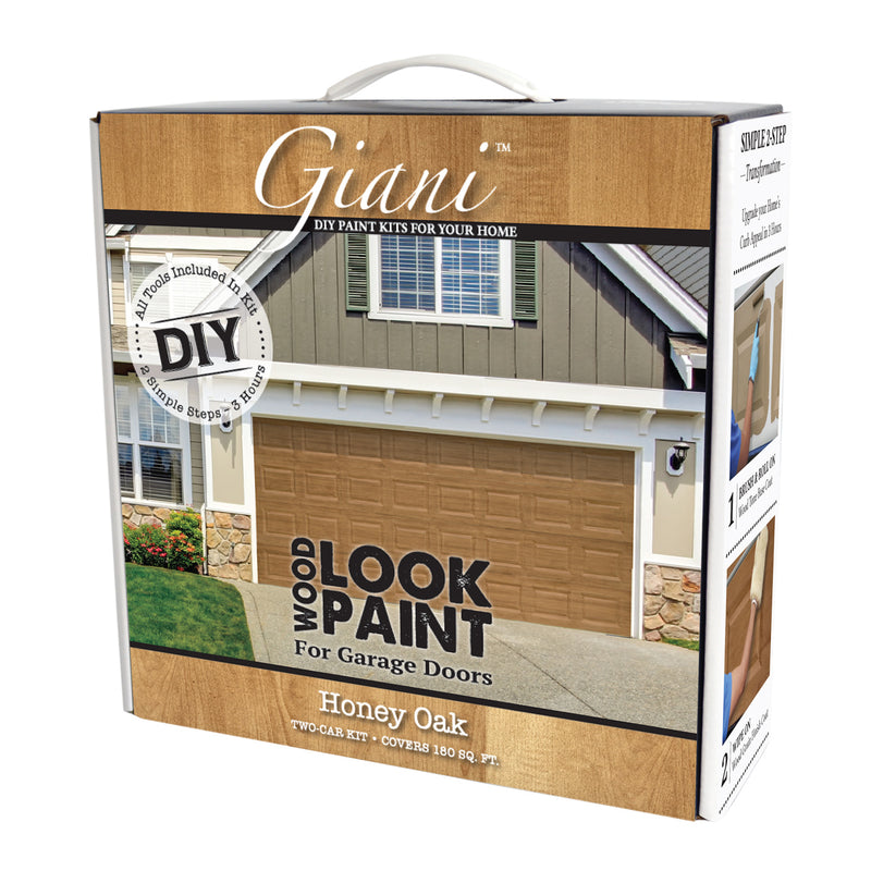 Giani Honey Oak Wood Look Kit for Garage Doors