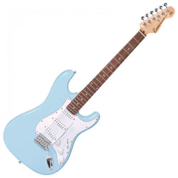 ENCORE E6 ELECTRIC GUITAR – LAGUNA BLUE