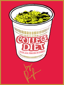 College Diet By Rafa