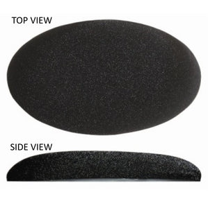 "Big Josh's Self-Adhesive All Purpose Oval 1.75"" x 3.15"" x 5/8"" Gel Pad for Protecting Elbows, Knees, Wrists, Back or Any Old Hard Spot"