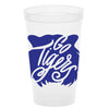Go Tigers Stadium Cups - Navy & Orange