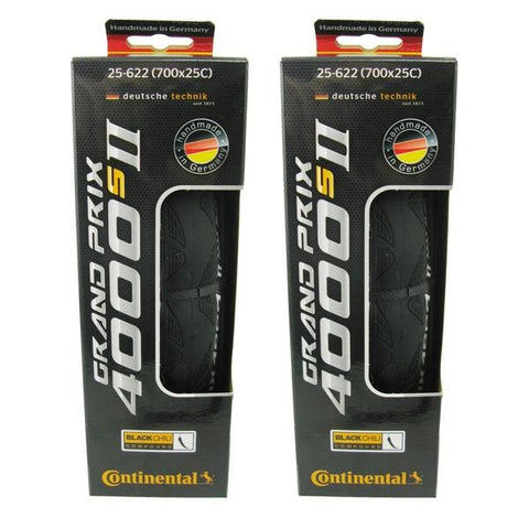 Image of Continental Grand Prix GP4000 S II 700c Folding Tire - Multi Packs - TheBikesmiths