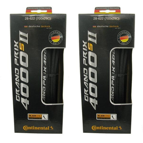 Continental Grand Prix GP4000 S II 700c Folding Tire - Multi Packs - TheBikesmiths