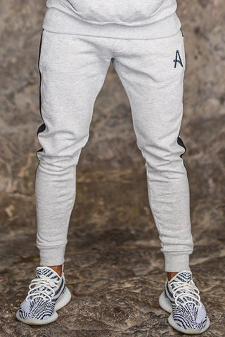Aces Couture Slim Hoody - Grey Marl