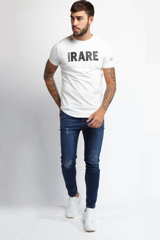 Always Rare Ripped Vincent Jeans - Indigo