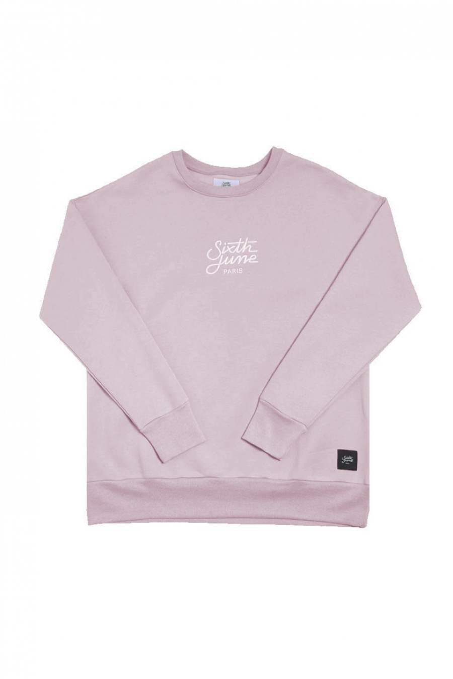 Sixth June Oversized Sweatshirt - Pink - 2