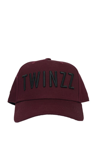 Twinzz 3D Full Trucker Cap - Burgundy/Black - 1