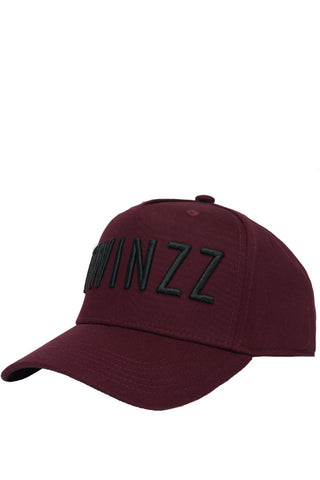 Twinzz 3D Full Trucker Cap - Burgundy/Black