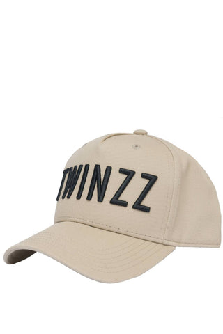 Twinzz 3D Full Trucker Cap - Stone/Black
