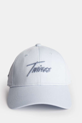 Twinzz Lightning Script Pitcher Cap - Baby Blue - 1