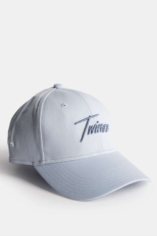 Twinzz Lightning Script Pitcher Cap - Baby Blue