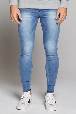 Good For Nothing Skinny Non-Ripped Jeans - Blue - 2