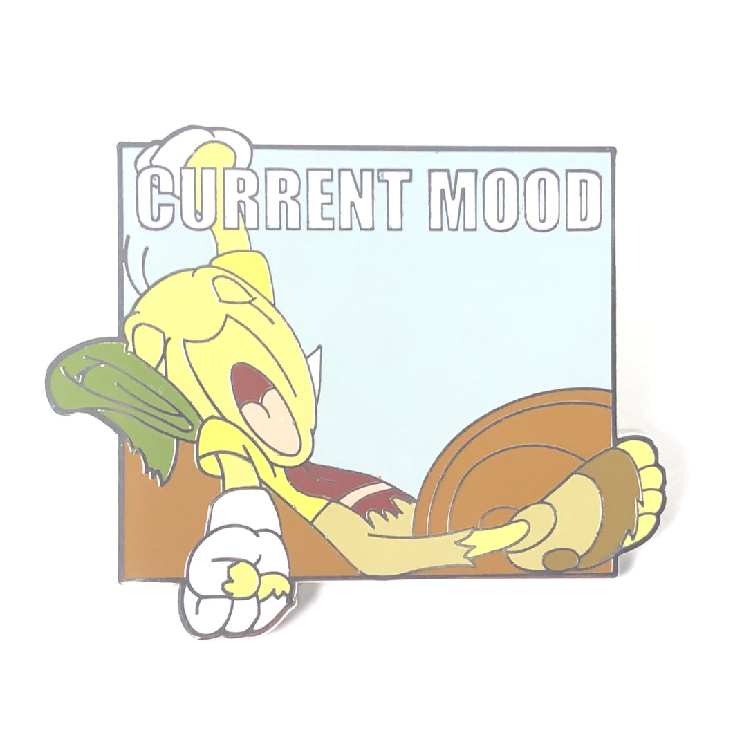 Pinocchio Jiminy Cricket Current Mood Lazy As A Cricket Disney Pin